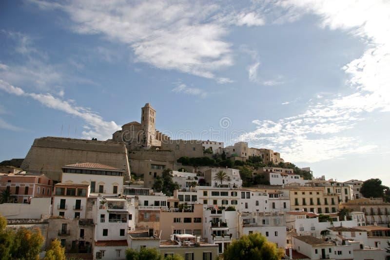 Ibizaspain Town Fotografering för Bildbyråer