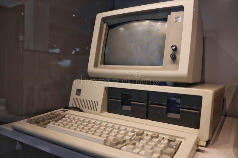 IBM 5150 προσωπικός Η/Υ στοκ εικόνα με δικαίωμα ελεύθερης χρήσης