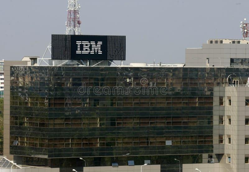 IBM Gałąź fotografia stock
