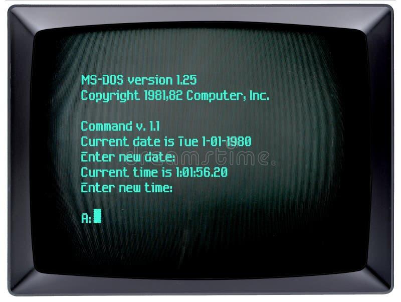 IBM PC Operating System royalty free stock image