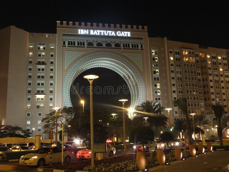 Ibn Battuta Gate en Dubai, UAE foto de archivo libre de regalías