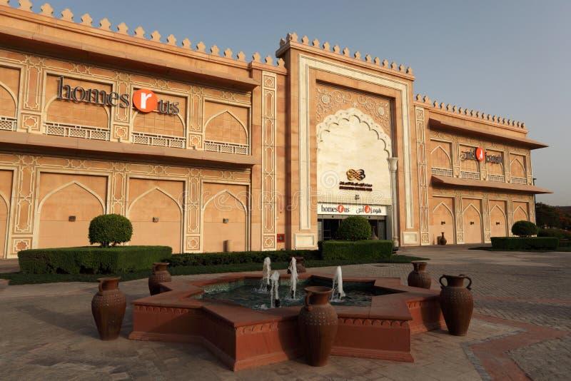 Ibn Battuta Mall in Dubai stock images