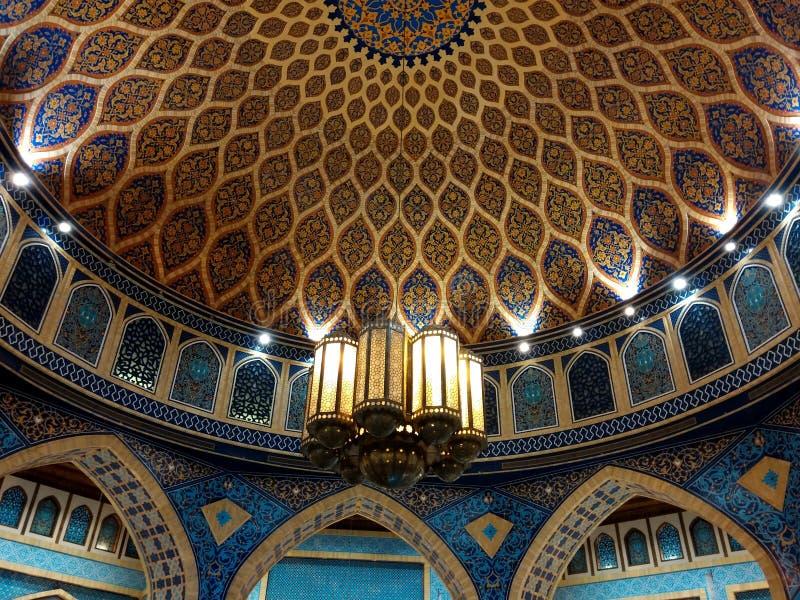 Ibn Battuta Mall Dubai - UAE Persia Court arkivfoto