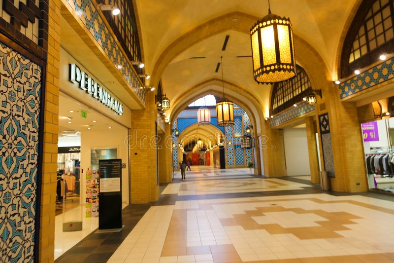 Download Ibn Battuta-winkelcomplex In Doubai Redactionele Fotografie - Afbeelding bestaande uit wandelgalerij, stijl: 107706482