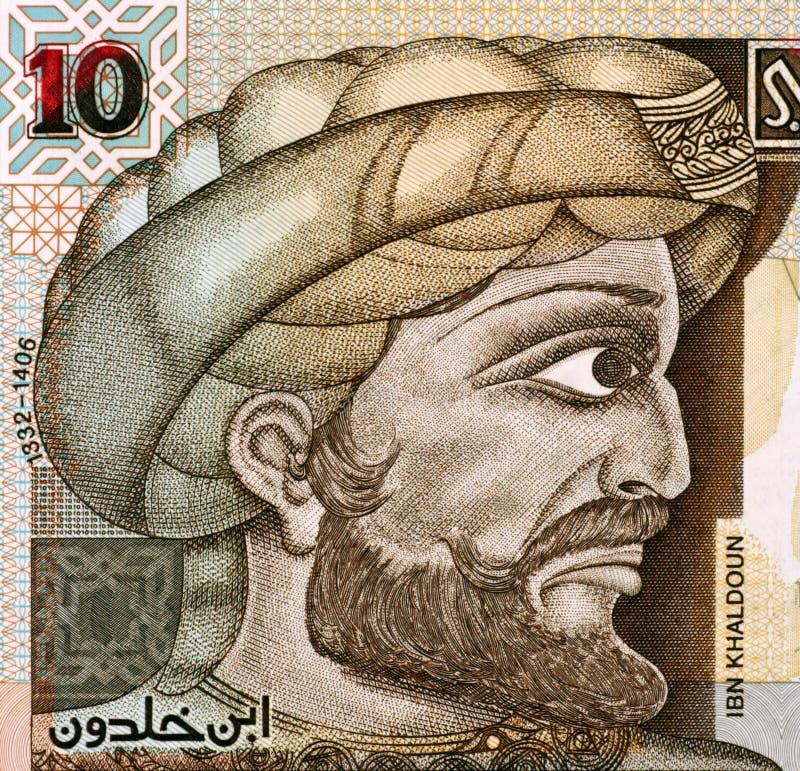 Ibn Khaldun imagem de stock
