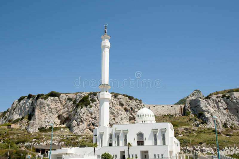 Ibrahim al Ibrahim Mosque - Gibraltar royalty-vrije stock fotografie