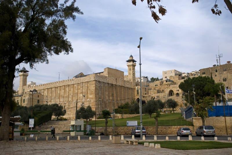Ibrahim Mosque, Hebron, Palestina royalty-vrije stock afbeeldingen