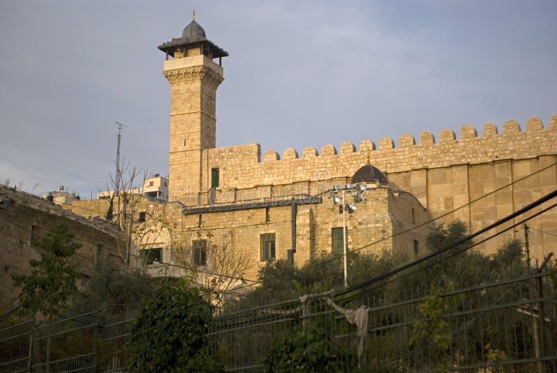 Ibrahim Mosque, Hebron, Palestine images libres de droits