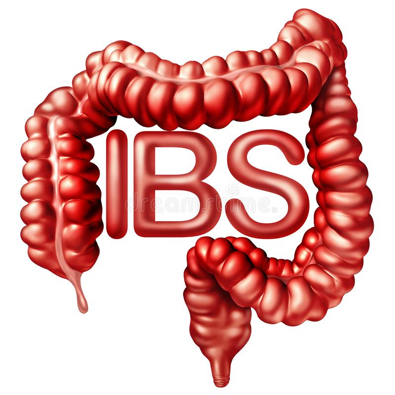 IBS Medical Concept vector illustration