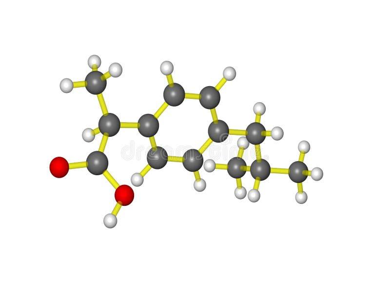 ibuprofen ilustracja wektor