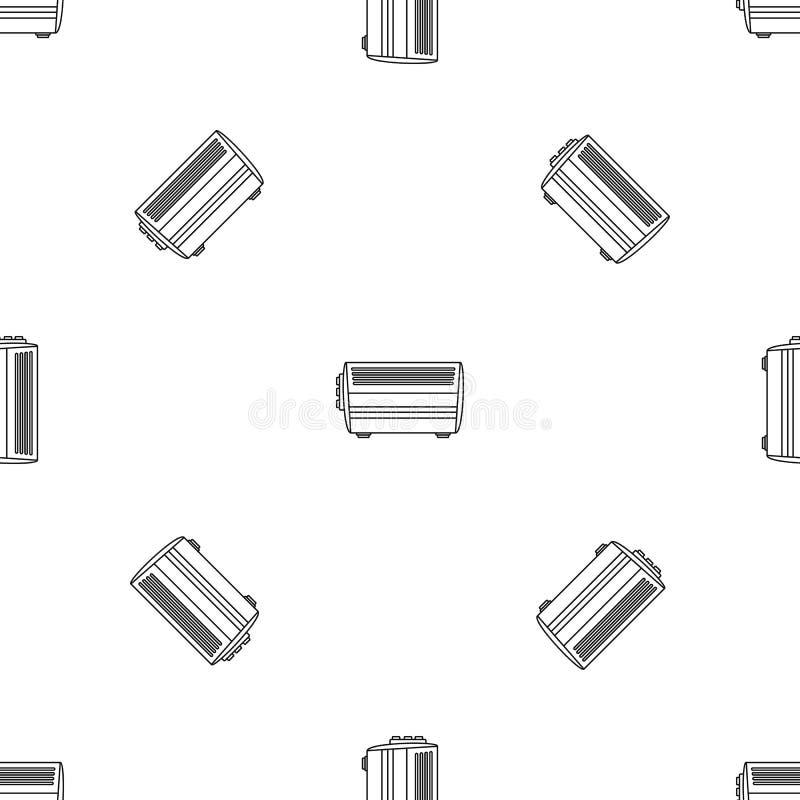Icône à la maison de convecteur, style d'ensemble illustration libre de droits