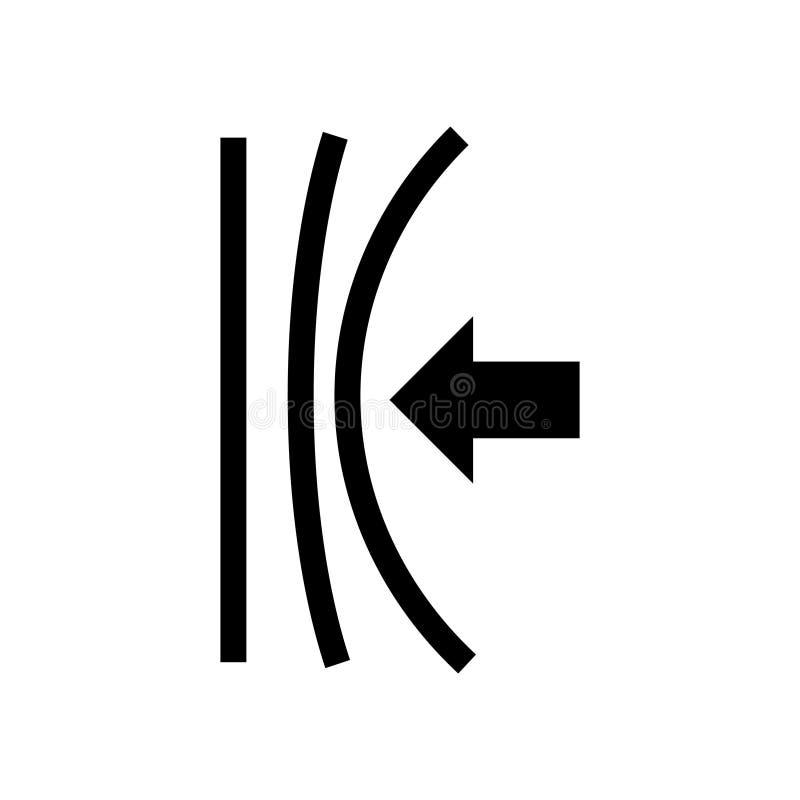 Icône élastique, illustration de vecteur illustration de vecteur