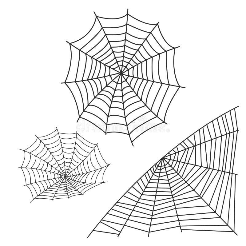 Icône animale effrayante plate graphique de vecteur d'horreur de danger d'insecte de nature de conception de crainte d'arachnide  illustration de vecteur