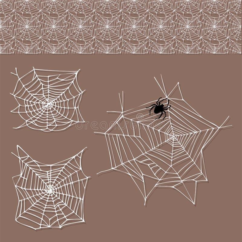 Icône animale effrayante plate graphique de vecteur de Halloween d'horreur de danger d'insecte de nature de conception de crainte illustration de vecteur