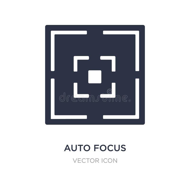 icône automatique de foyer sur le fond blanc Illustration simple d'élément de concept d'UI illustration de vecteur