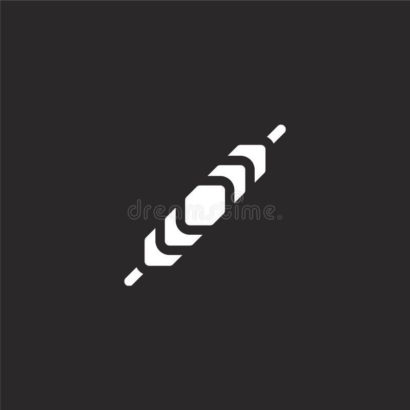icône bracelet Icône de bracelet rempli pour la conception de sites Web et le développement d'applications mobiles icône de brace illustration de vecteur