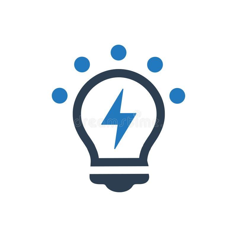 Icône créative d'idée illustration libre de droits