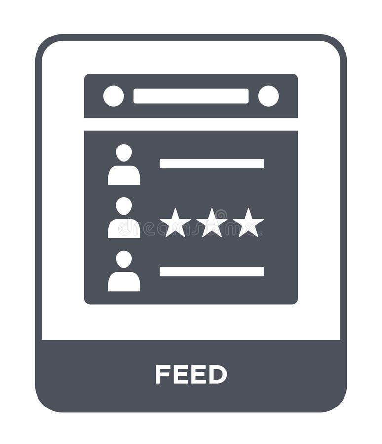 icône d'alimentation dans le style à la mode de conception icône d'alimentation d'isolement sur le fond blanc symbole plat simple illustration de vecteur
