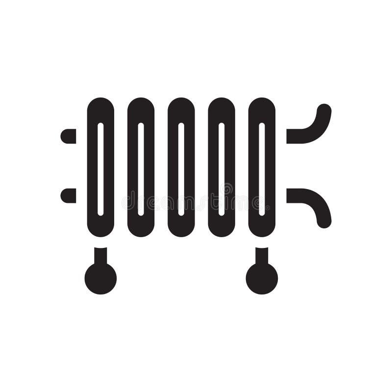 Icône d'appareil de chauffage  illustration de vecteur