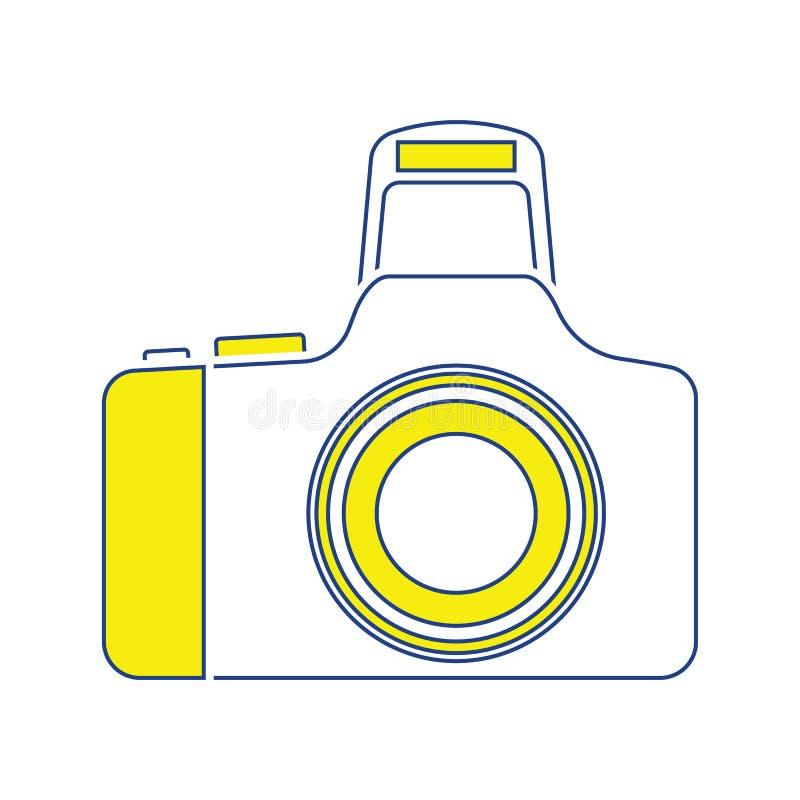 Icône d'appareil-photo de photo illustration libre de droits