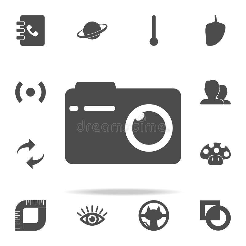 Icône d'appareil-photo de photo ensemble universel d'icônes de Web pour le Web et le mobile illustration libre de droits