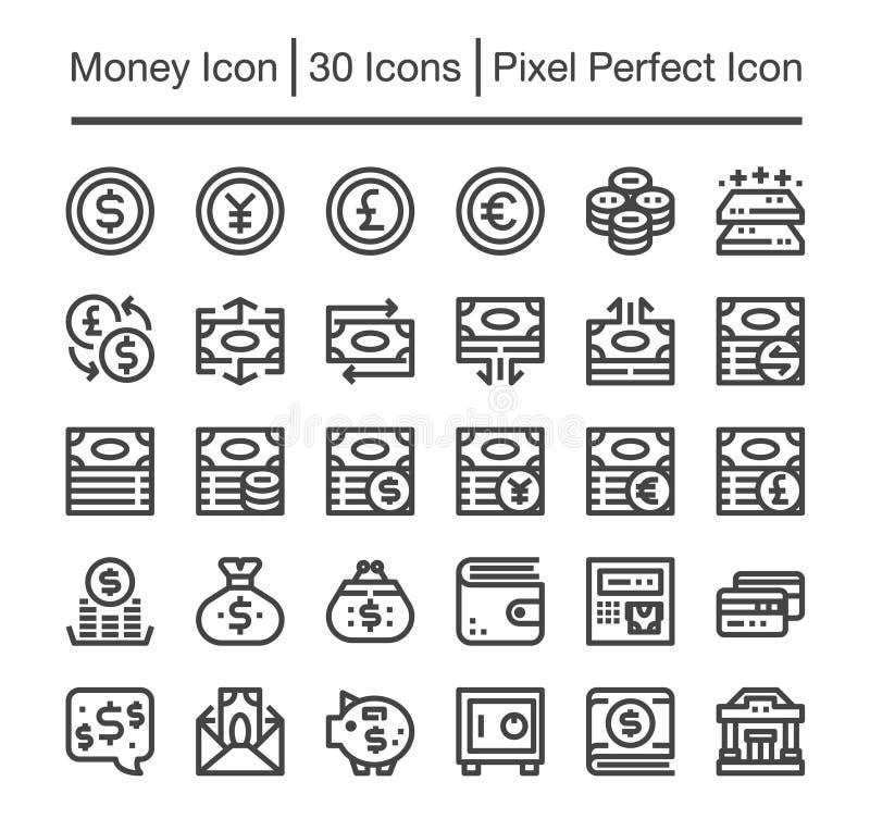 Icône d'argent illustration libre de droits