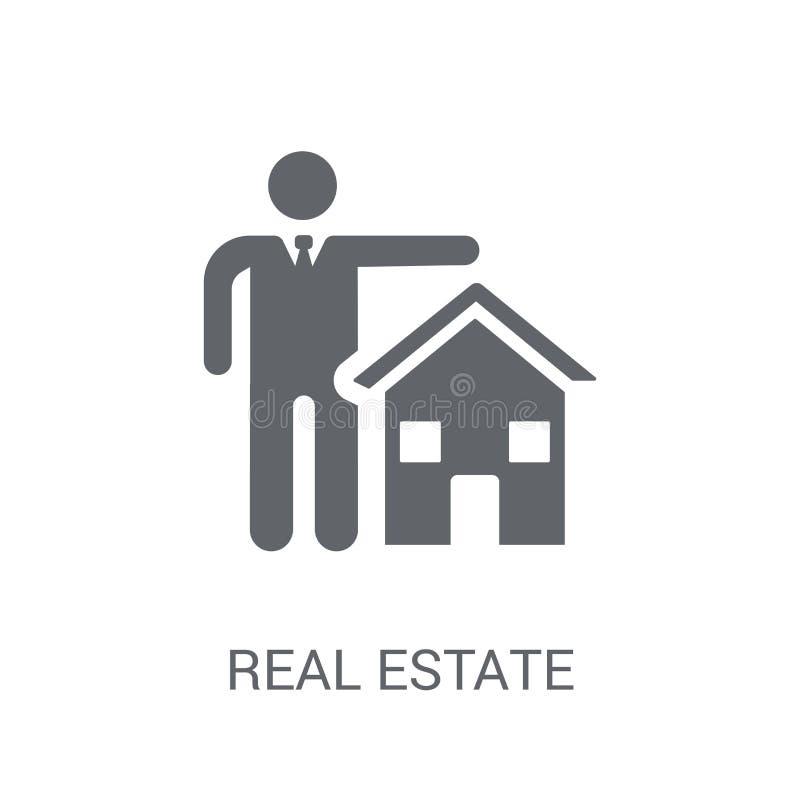 Icône d'assurance d'immobiliers Logo à la mode Co d'assurance d'immobiliers illustration libre de droits