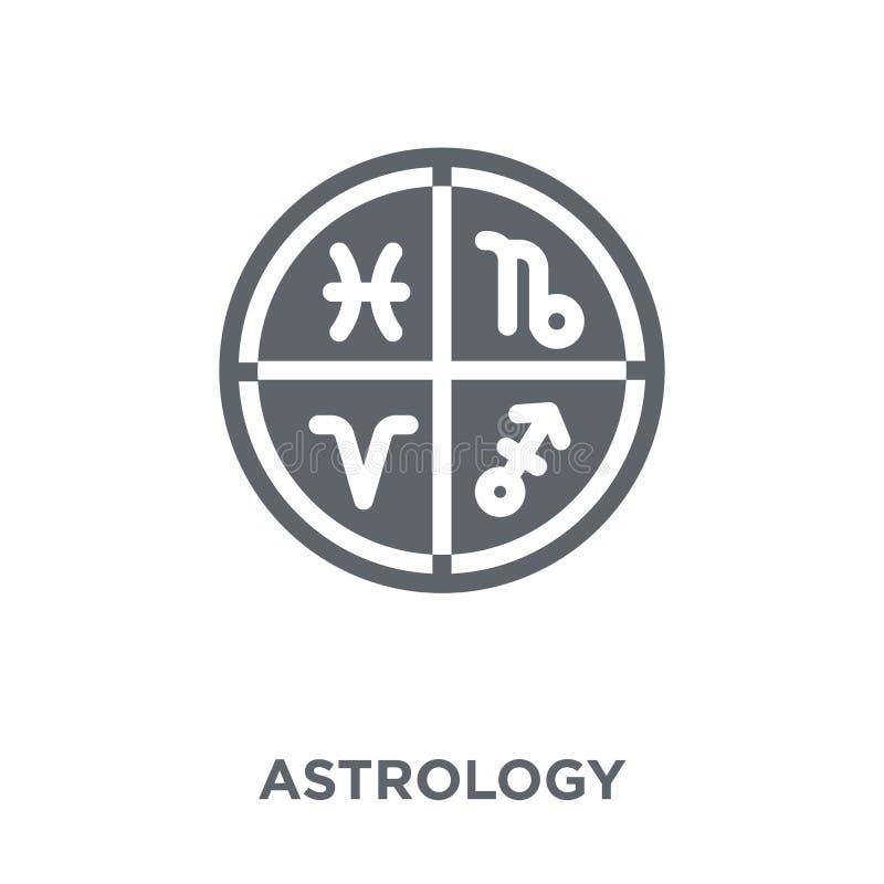 Icône d'astrologie de collection d'astronomie illustration de vecteur