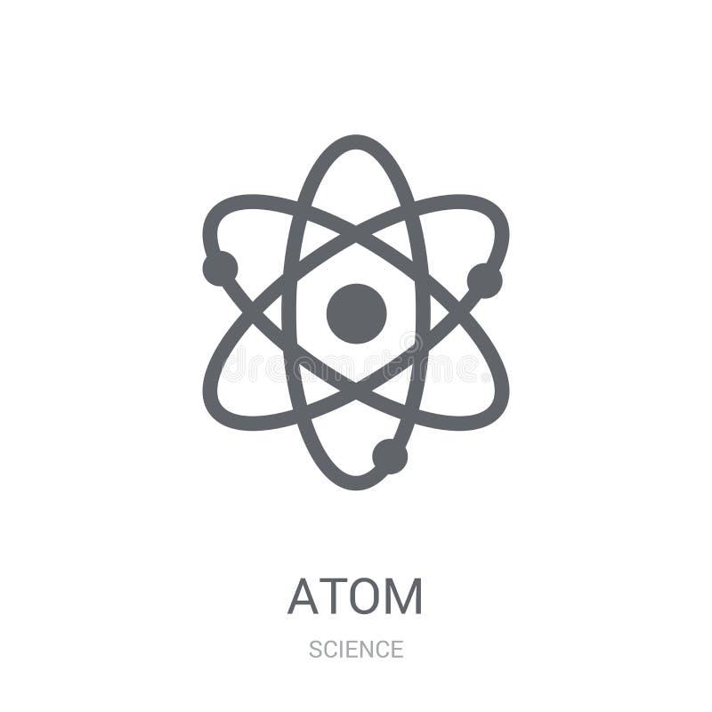 Icône d'atome  illustration libre de droits