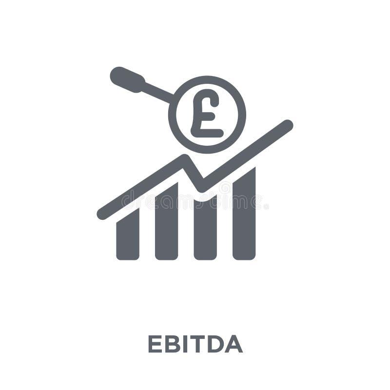 Icône d'Ebitda de collection d'Ebitda illustration de vecteur