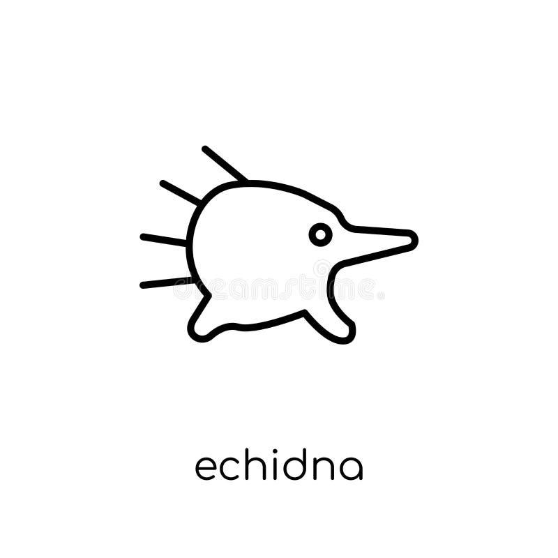 Icône d'Echidna  illustration stock