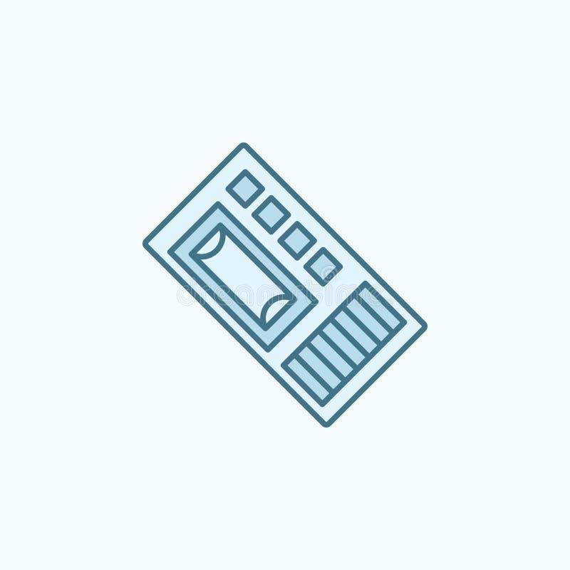 Icône d'ensemble de gisement de dictaphone Élément d'icône de crime illustration de vecteur