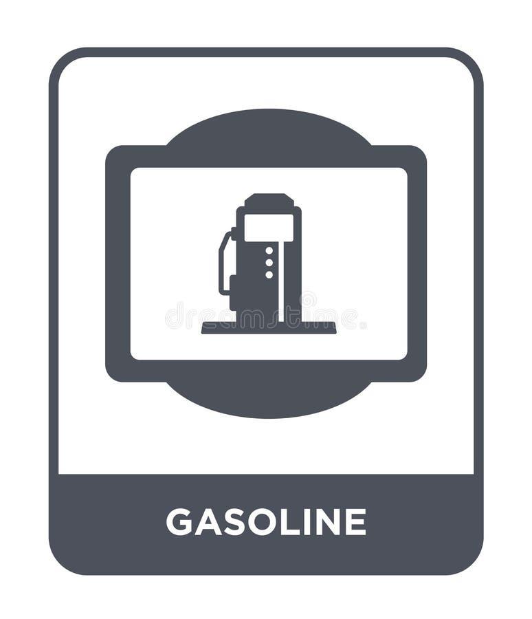 icône d'essence dans le style à la mode de conception icône d'essence d'isolement sur le fond blanc appartement simple et moderne illustration stock