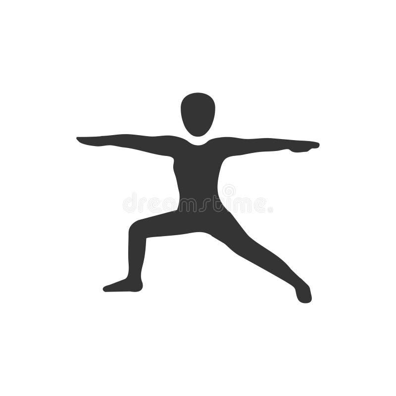 Icône d'exercice illustration libre de droits
