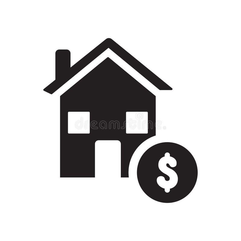 Icône d'hypothèque  illustration de vecteur