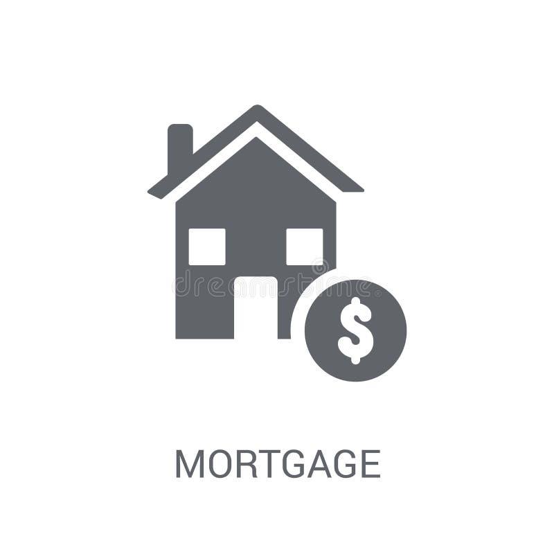 Icône d'hypothèque  illustration libre de droits