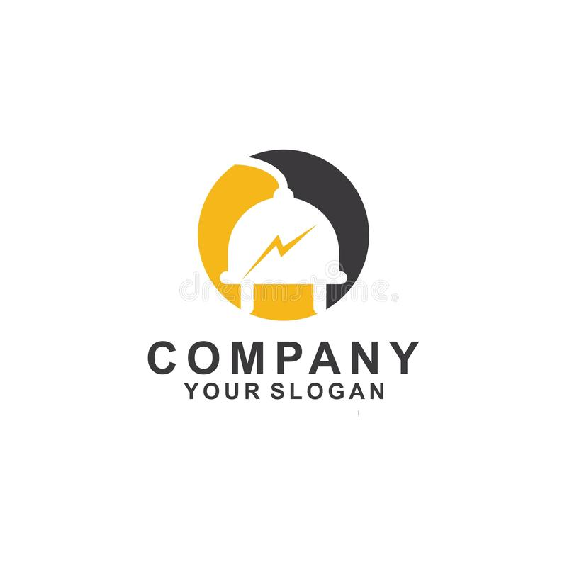 icône d'illustration de vecteur de conception de calibre de logo d'énergie illustration de vecteur
