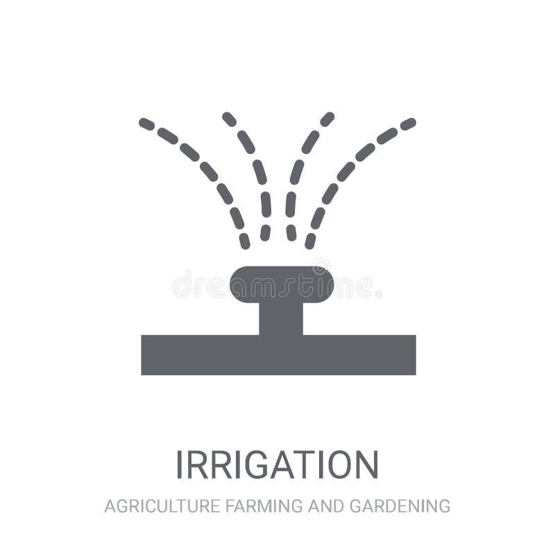 Icône d'irrigation  illustration libre de droits