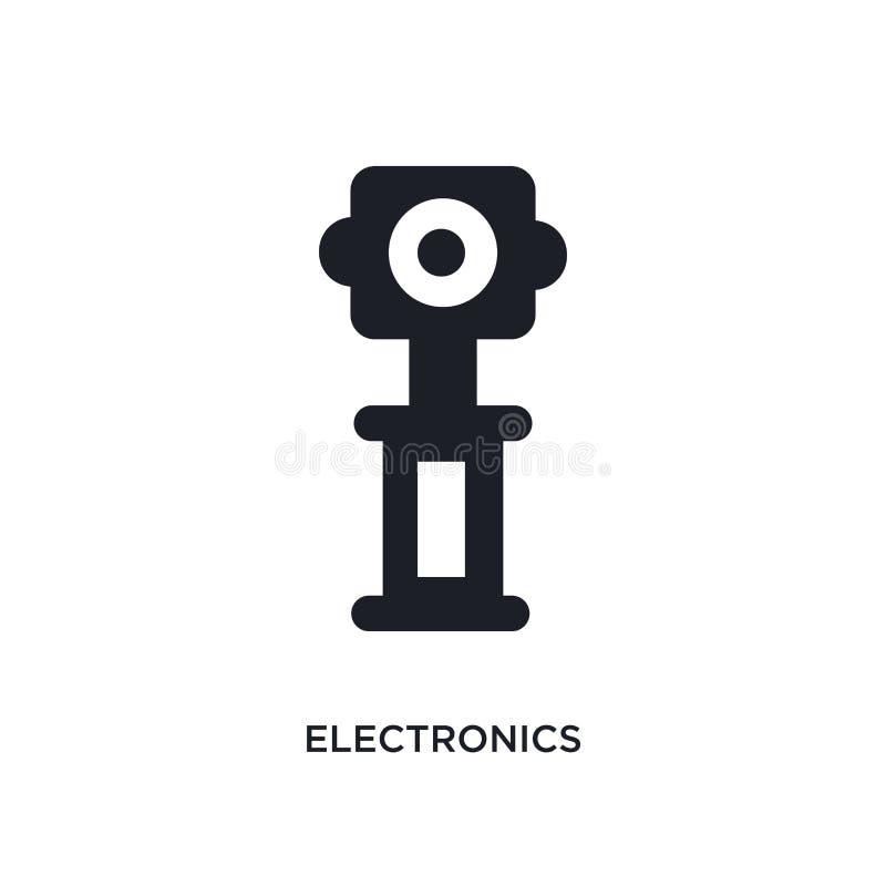 icône d'isolement parélectronique illustration simple d'élément des icônes de concept de musée conception editable de symbole de  illustration de vecteur