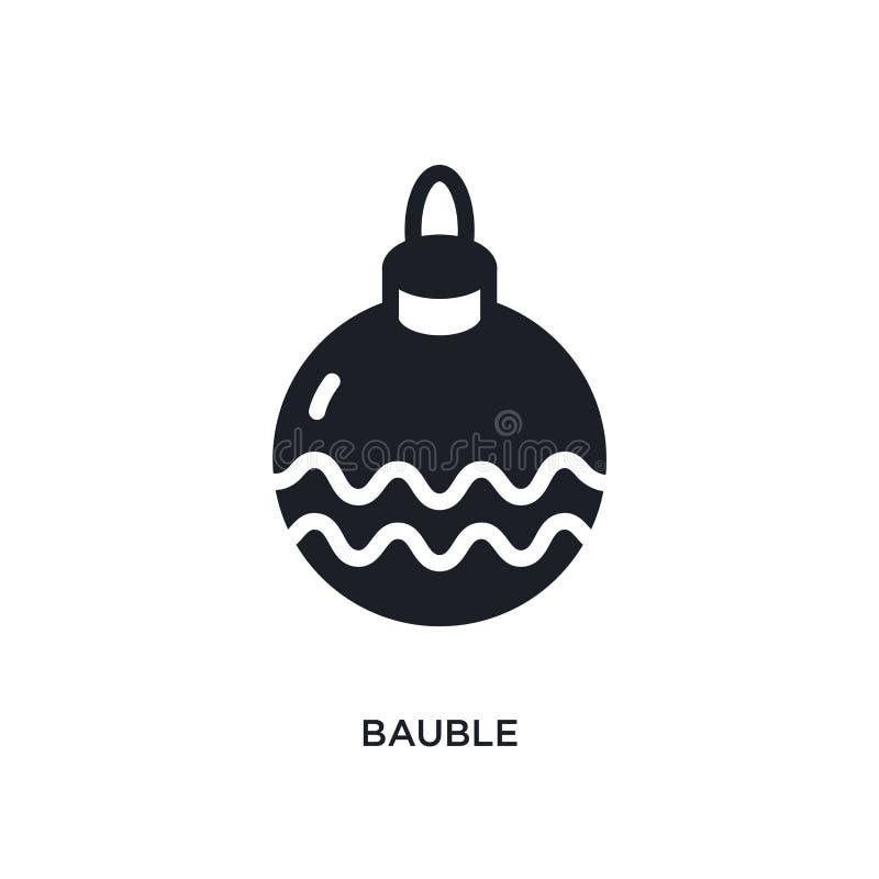 icône d'isolement par babiole illustration simple d'élément des icônes de concept d'hiver conception editable de symbole de signe illustration de vecteur