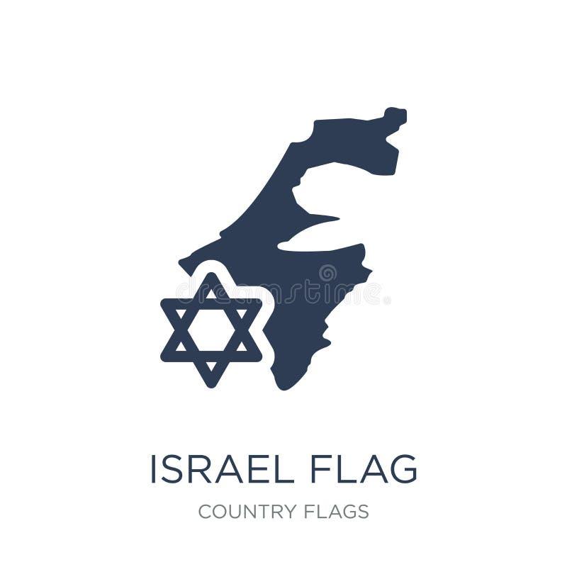 Icône d'Israel Flag  illustration de vecteur