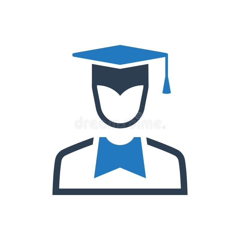 Icône d'obtention du diplôme illustration de vecteur