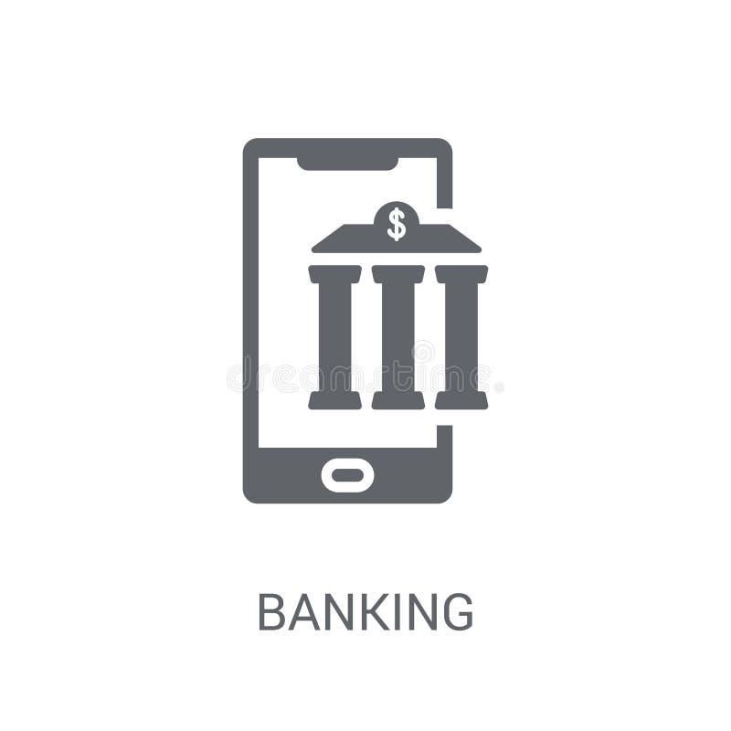 Icône d'opérations bancaires  illustration libre de droits