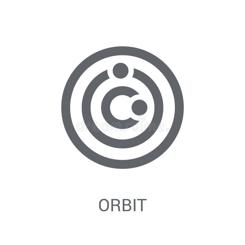 Icône d'orbite  illustration de vecteur