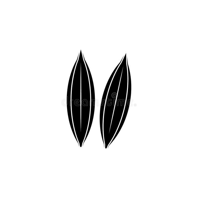 Icône d'orge Élément d'illustration d'éléments de graines et d'écrous Icône de la meilleure qualité de conception graphique de qu illustration stock