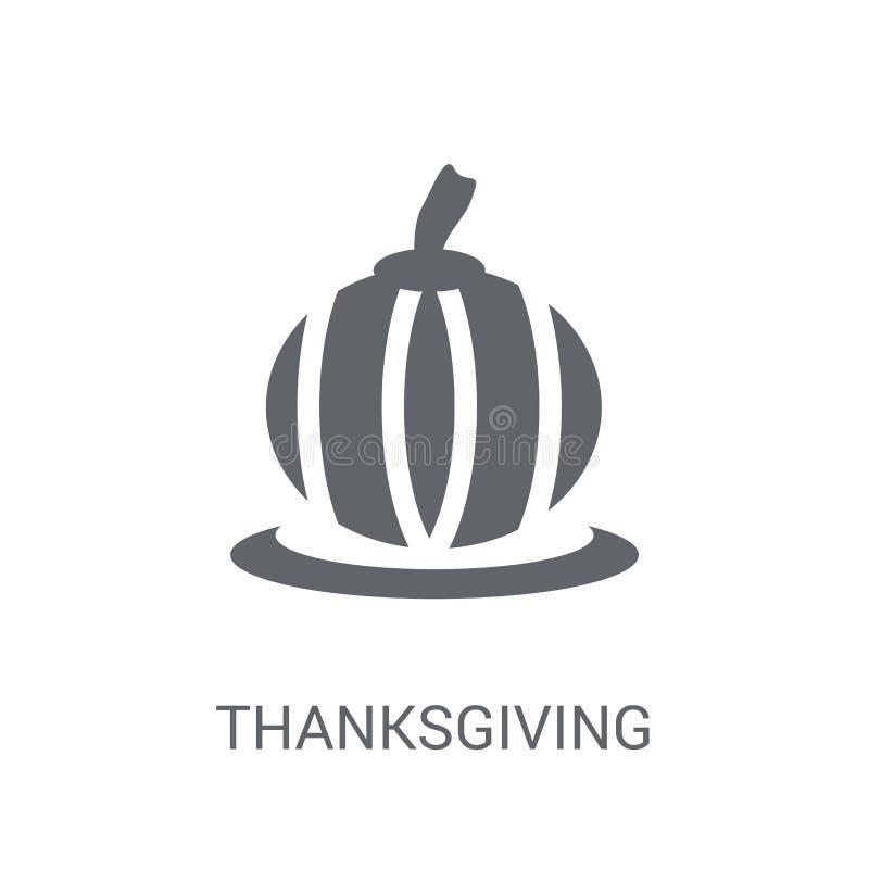 Icône d'ornement de thanksgiving  illustration stock