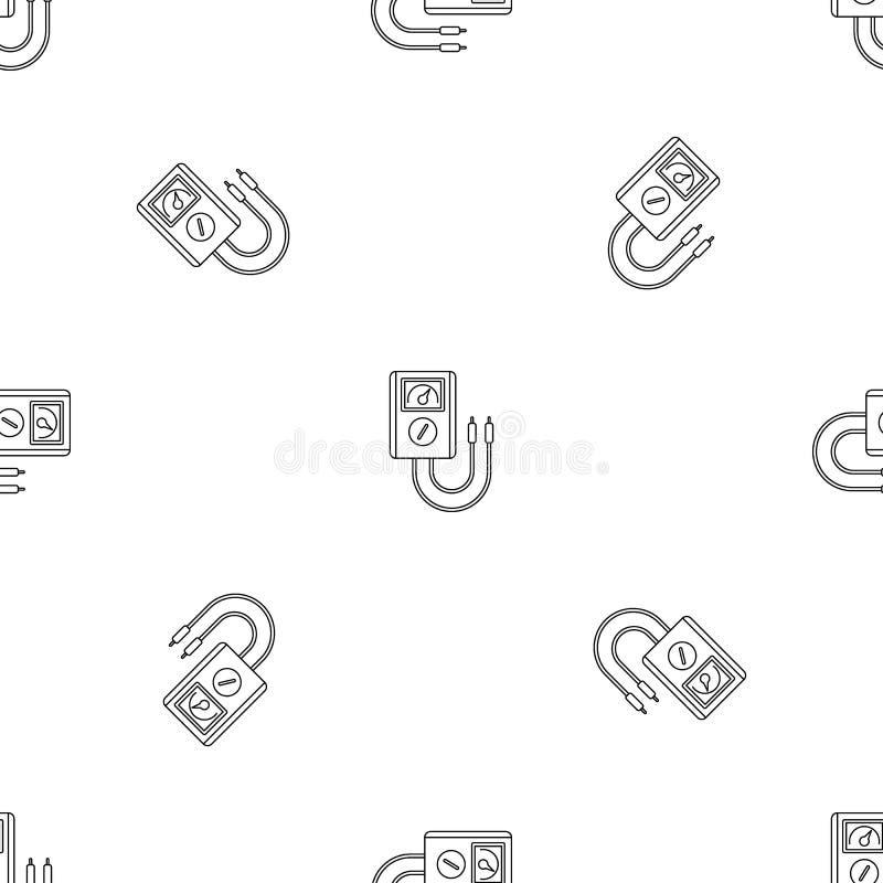 Icône d'outil de dispositif de tension, style d'ensemble illustration libre de droits