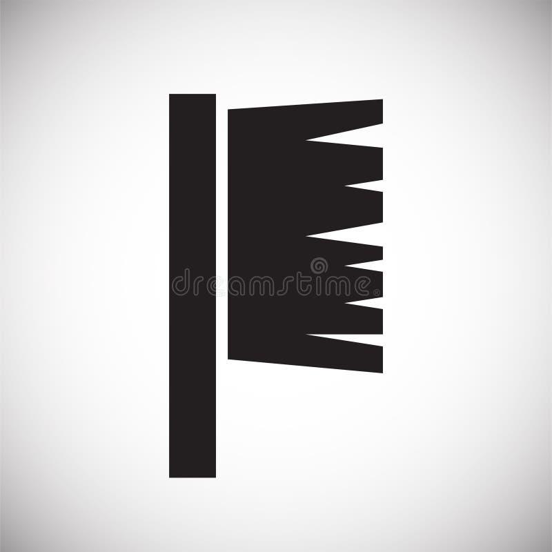 Icône d'outil sur le fond blanc pour le graphique et la conception web, signe simple moderne de vecteur Internet bleu de concept  illustration stock