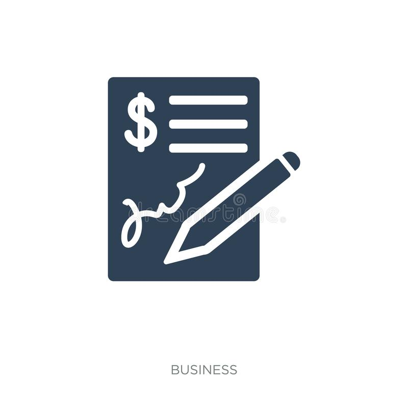 icône dans le style à la mode de conception Graphisme d'isolement sur le fond blanc symbole plat simple et moderne d'icône de vec illustration libre de droits