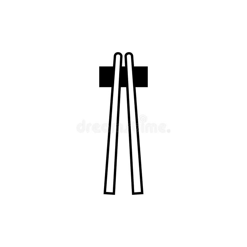 Icône de baguette - éléments pour votre conception images libres de droits